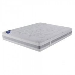 Matelas d houssable crown bedding mousse m moire de forme 140x190cm - Matelas pirelli bedding ...