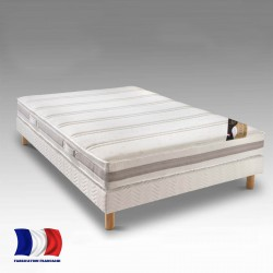 Matelas 160x200 memoire de forme fabriqué en France PERFECT - Matelas de France