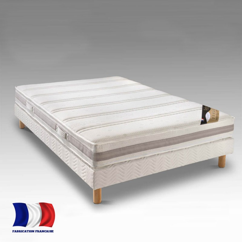 matelas memoire de forme 160cm queen size petit prix fabriqu france. Black Bedroom Furniture Sets. Home Design Ideas