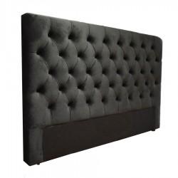 Tête de lit capitonnée cuir tissu microfibre toutes dimensions PINKY