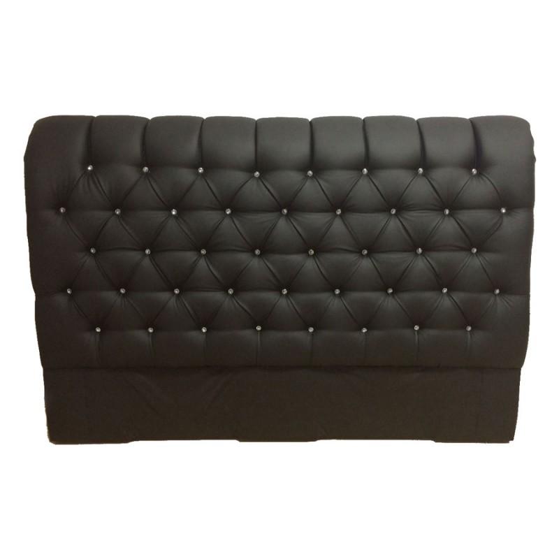t te lit capitonn e triangles cuir tissu microfibre toutes dimensions. Black Bedroom Furniture Sets. Home Design Ideas