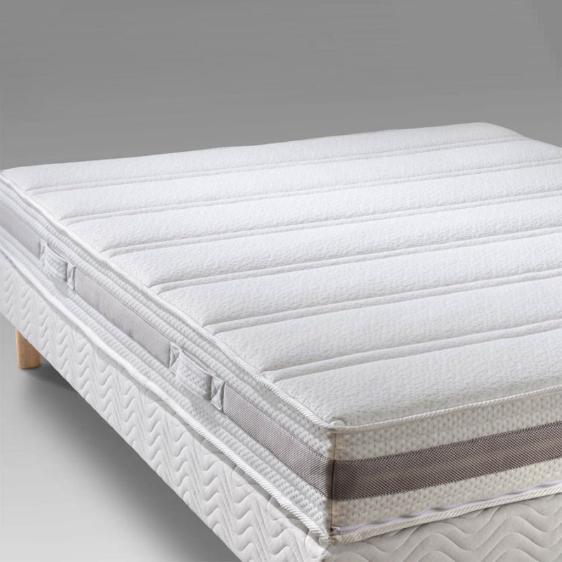 matelas 140x190 mousse haute r silience 35 kg fabriqu en france. Black Bedroom Furniture Sets. Home Design Ideas