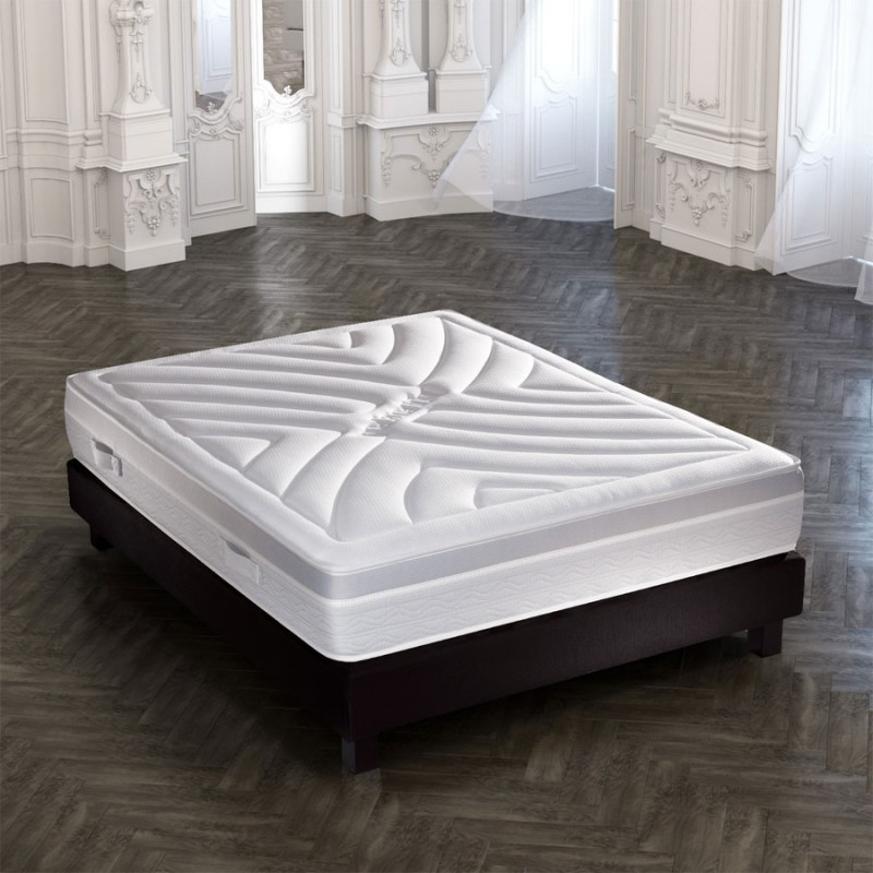 matelas crown bedding mousse de gel 140x190cm pas cher. Black Bedroom Furniture Sets. Home Design Ideas