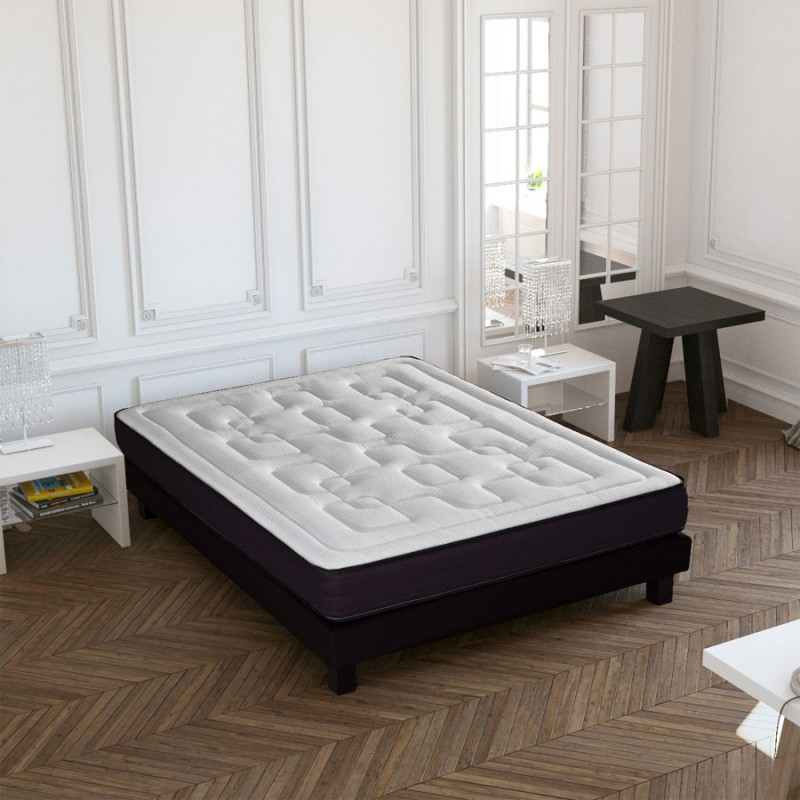 pas cher matelas crown bedding mousse m moire de forme 140x190cm. Black Bedroom Furniture Sets. Home Design Ideas