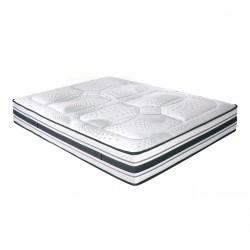 Matelas 160cm latex 7 zones de confort différenciées accueil enveloppant BROOKS