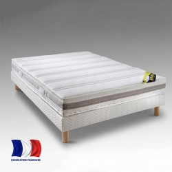Matelas 140x190cm mousse haute résilience fabriqué en France LIFE